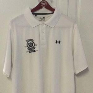 Under Armour Fred Biletnikoff Raiders Golf Shirt